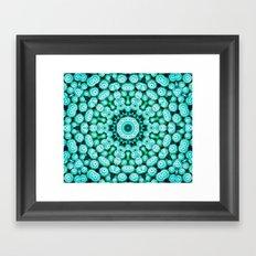 Cactus Star Framed Art Print