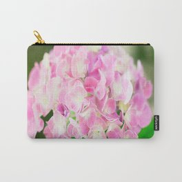 Pink Blossom Hydrangea Carry-All Pouch