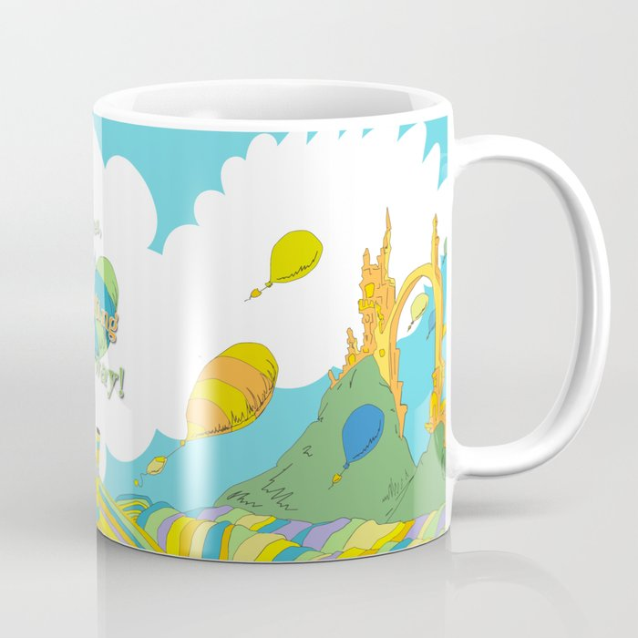 ... Oh The Places You Ll Go Special Custom Colors Coffee Mug ...