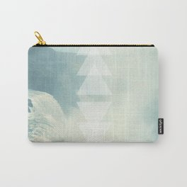 Geometric Waterfall (Western Sea) Carry-All Pouch