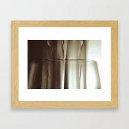 Glass I Framed Art Print