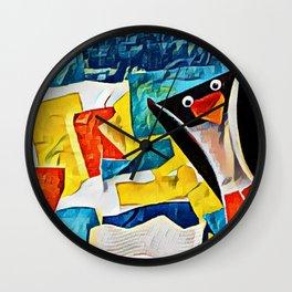 pinguin Wall Clock