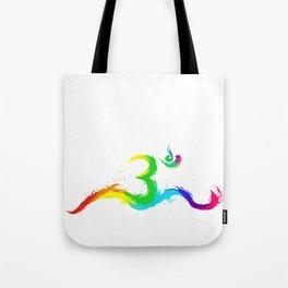 Om meditation goa psytrance Gift Idea Tote Bag