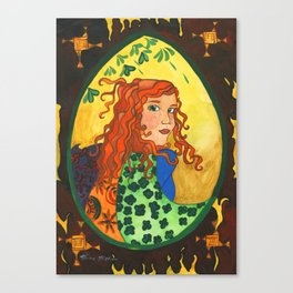 Goddess Brigid Canvas Print