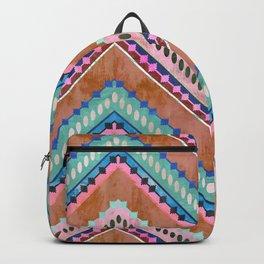 Boho Chevron 15C Backpack