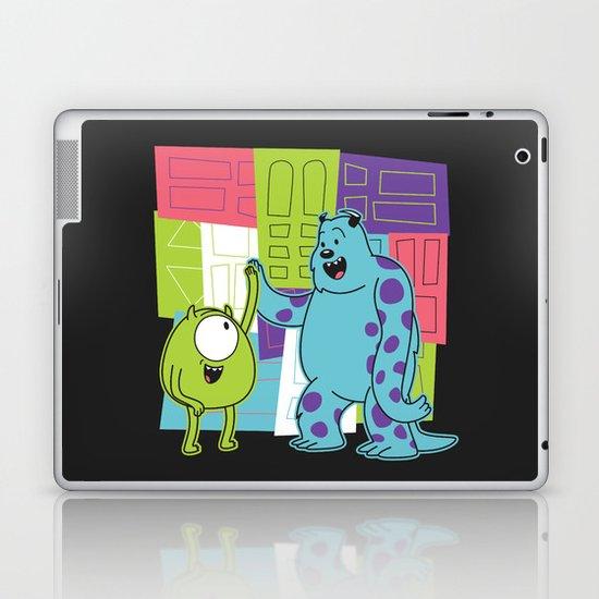 Monster Time Laptop & iPad Skin