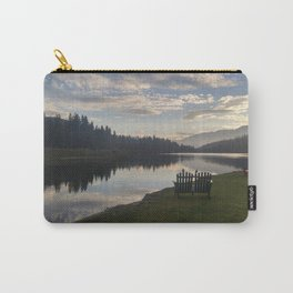 Morning Lake Carry-All Pouch