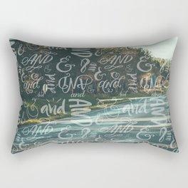 And Then Rectangular Pillow