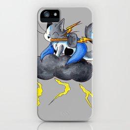 Thunderous Thursday iPhone Case