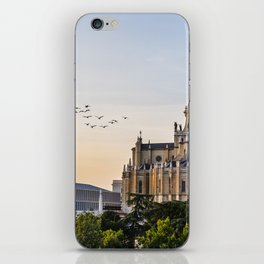 Almudena cathedral of Madrid iPhone Skin