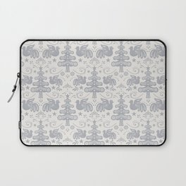 Hygge - Scandinavian Winter (grey) Laptop Sleeve