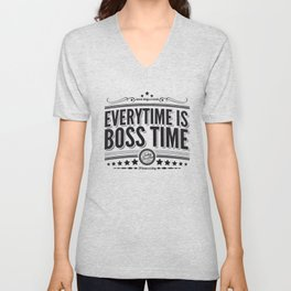 Every time is Boss time (Springsteen tribute) Unisex V-Neck