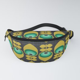 MCM Hoodwinked Grey Fanny Pack