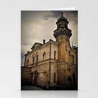 dark tower Stationery Cards featuring Dark Tower by Contrasens