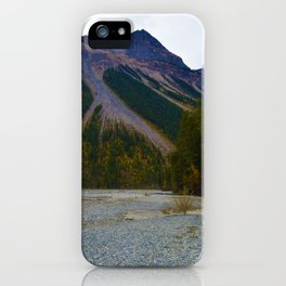 Kinney Flats on the Berg Lake Trail in British Columbia, Canada iPhone Case