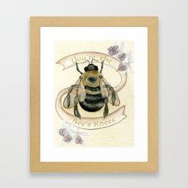 The Bees Knees Framed Art Print