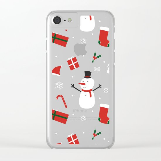 Yay Christmas! Clear iPhone Case