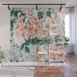 1992 Floral Wall Mural