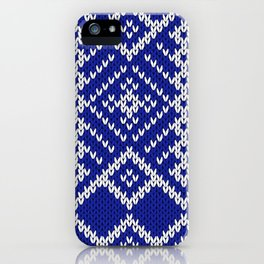 Winter Sweater Fair Isle Design iPhone Case