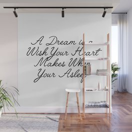 a dream Wall Mural