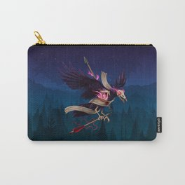 Undead Crow Carry-All Pouch