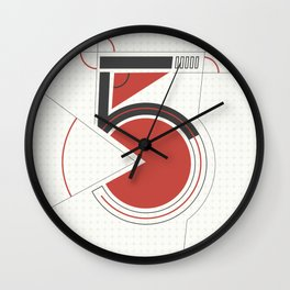 constructed 5 Wall Clock