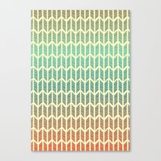 Quill Pattern Canvas Print
