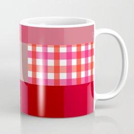 Pixels And Gingham II Coffee Mug