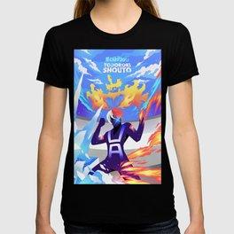 Todoroki Shouto Poster Design - Skizorr T-shirt