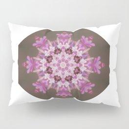 Lilac floral flake Pillow Sham