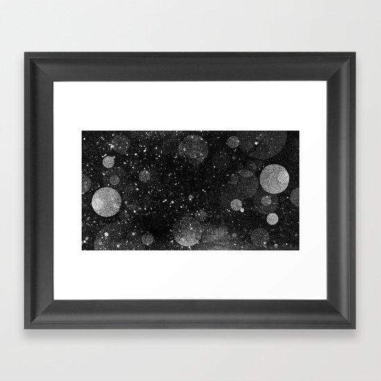 OUTER_____ Framed Art Print