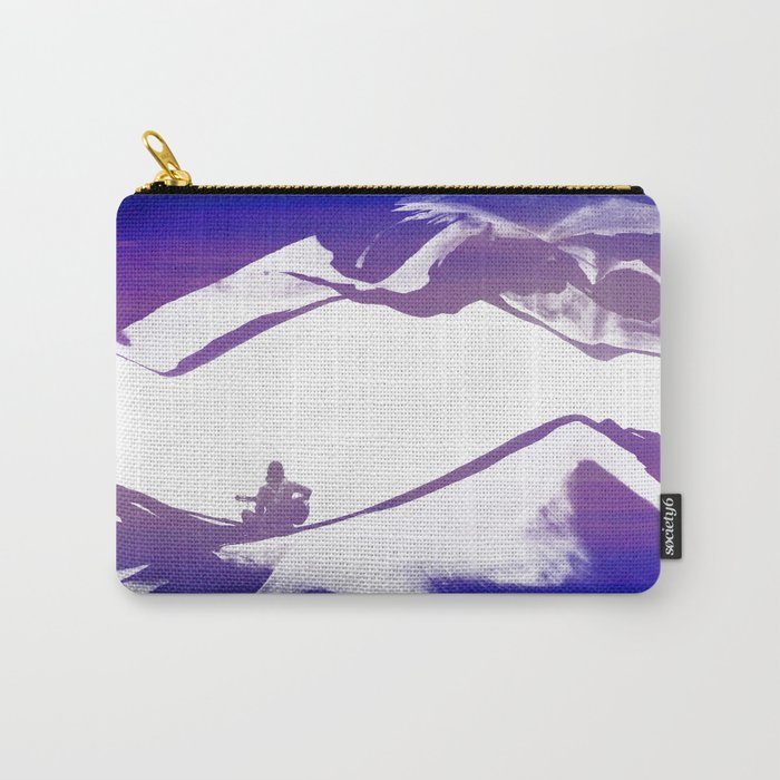 Purple Song of isolation Carry-All Pouch