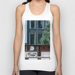A Day in Amsterdam Unisex Tank Top