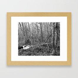 Les complications de la chair 5 Framed Art Print