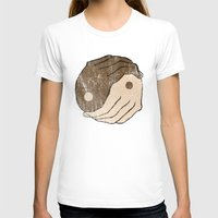 ying yang T-shirts featuring Ying Yang by Bear Bone