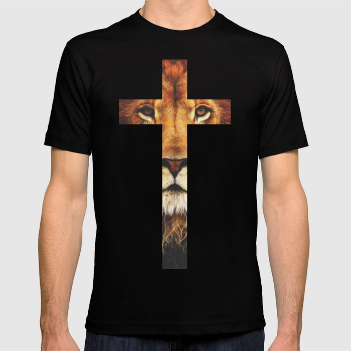 Christian Cross - The Lion of Judah T-shirt