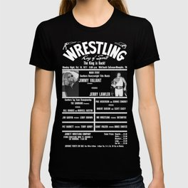 #4-B Memphis Wrestling Window Card T-shirt