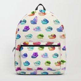 Jewel Snail - pastel Backpack
