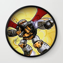 Metalhead Wall Clock