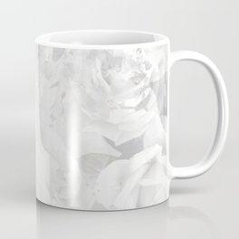 Grayscale Roses Coffee Mug