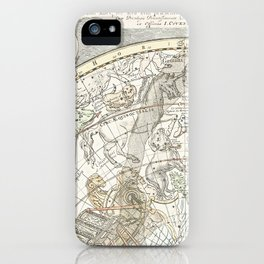 Star map of the Southern Starry Sky iPhone Case