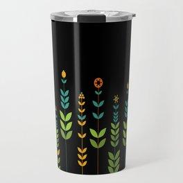 Simple Flowers Travel Mug