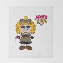 Miss Piggy Song - Moffat Babies Throw Blanket