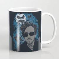 tim burton Mugs featuring Burton´s Universe by 2mzdesign