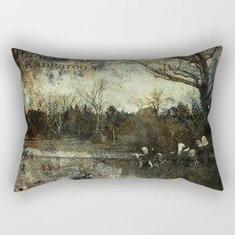 Hunting Kangaroo's Rectangular Pillow