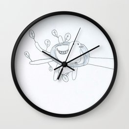 L'oiseau d'Hiver Wall Clock