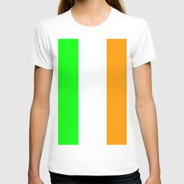 flag of ireland 5 -ireland,eire,airlann,irish,gaelic,eriu,celtic,dublin,belfast,joyce,beckett T-shirt