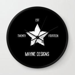 Mayne Star Wall Clock