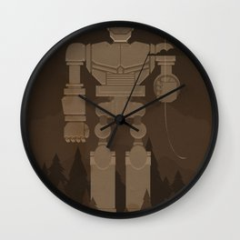 The Robot and The Balloon Wall Clock