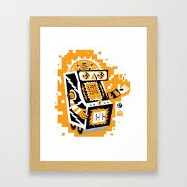 VideoBot Framed Art Print